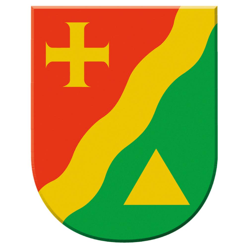 Das Wappen von Jennersdorf als JPG.