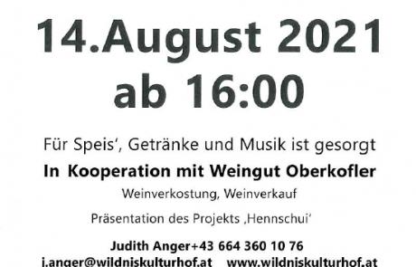 Flyer Einladung Hoffest