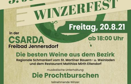 Flyer Winzerfest