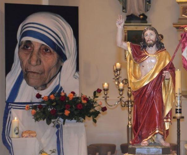 Mutter Teresa Feier
