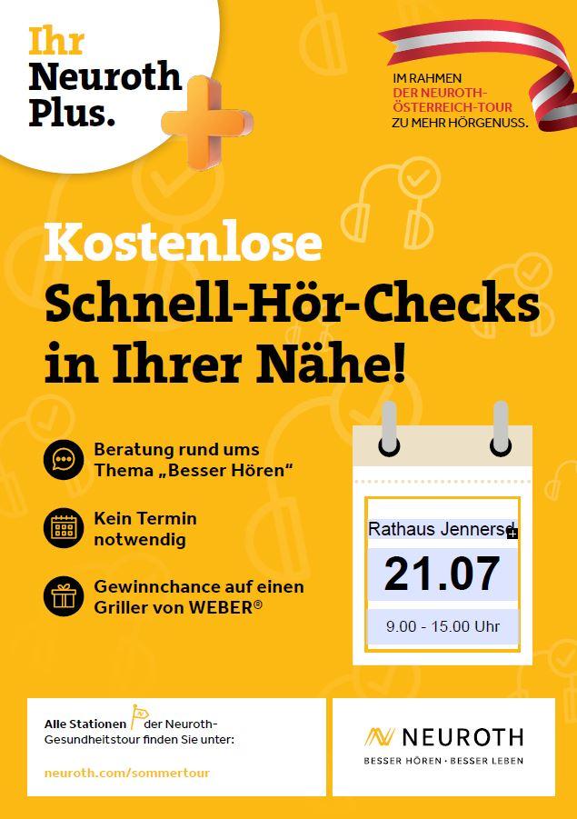 Kostenlose Schnell-Hör-Checks in Jennersdorf